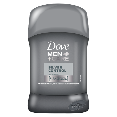 Dove Antiperspirant stick Men+Care Silver Control 50ml