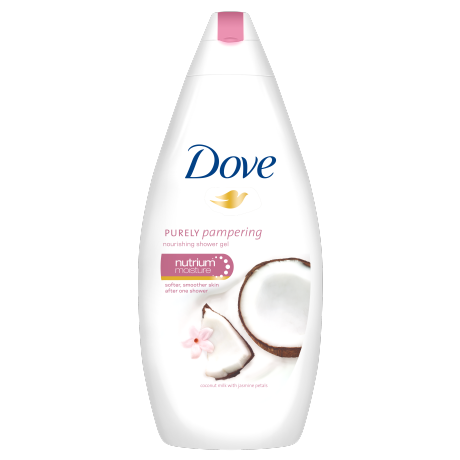 Dove Gel de duş nutritiv Purely Pampering Coconut Milk with Jasmine Petals 500ml