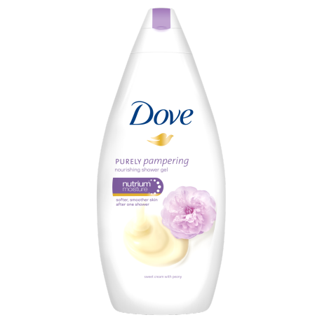 Dove Gel de dus nutritiv Purely Pampering Sweet Cream with Peony 500ml