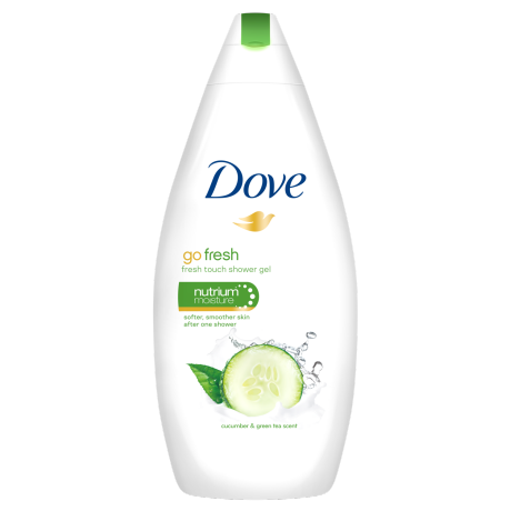 Dove Gel de duş nutritiv Go Fresh - Fresh Touch 500ml