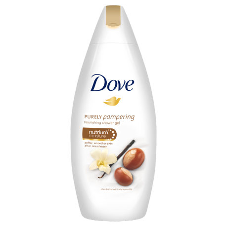 Dove Gel de duş nutritiv Purely Pampering Shea Butter with Warm Vanilla 500ml