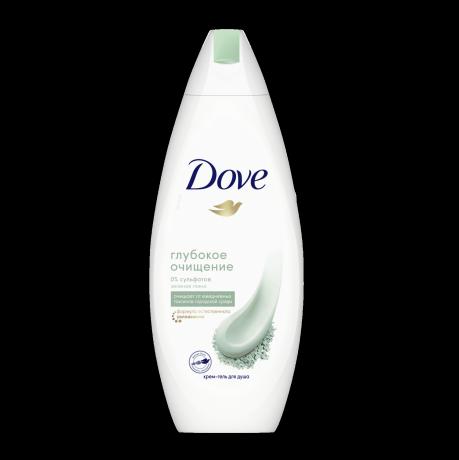 Dove бессульфатный гель для душа Зеленая глина 250 мл