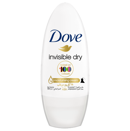 Dove Invisible Dry Roll-on Antiperspirant 50ml