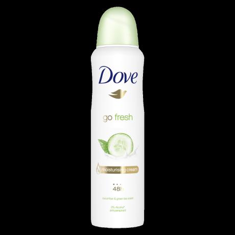 Dove Go Fresh Spray Antiperspirant Deodorant Cucumber 150 ml