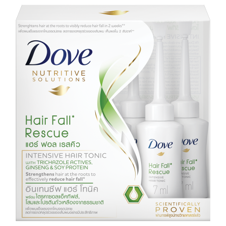 Dove Hair Fall Rescue Intensive Hair Tonic 7x7ml