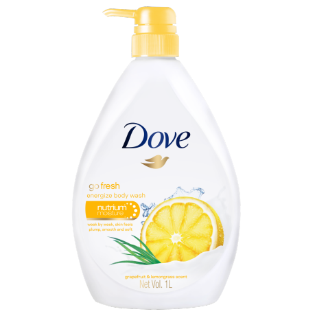 Dove Energize Body Wash 1000ml