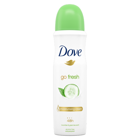 Dove Go Fresh Cucumber & Green Tea Anti-Perspirant Deodorant 150ml