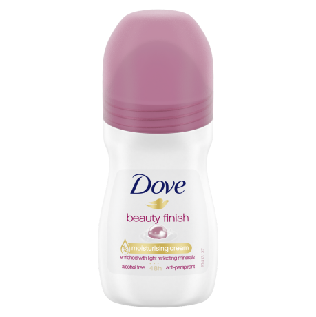 Dove Beauty Finish Roll-on Anti-Perspirant Deodorant 50ml