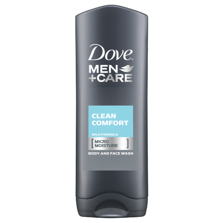 Dove Men+Care Clean Comfort Body Wash 400ml