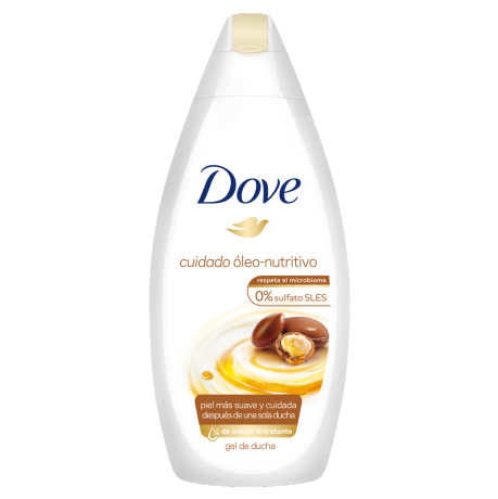 Dove Gel de Ducha Argan Óleo Nutritivo 200ml