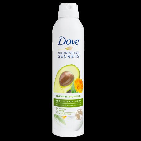 Dove Nourishing Secrets Loção Spray Invigorating Ritual 190ml