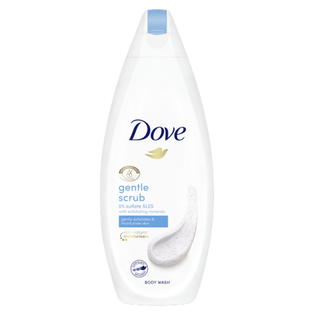 Dove Gentle Scrub Duschkräm 225ml