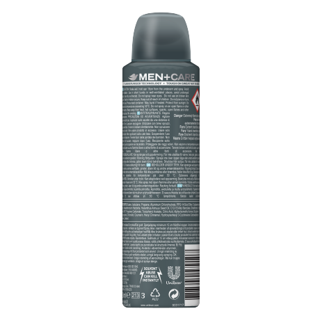 Men+Care Clean Comfort Antiperspirant Spray