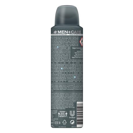 PNG - Men+Care Clean Comfort Antiperspirant Spray