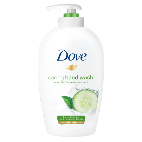 Dove Go Fresh Cucumber & Green Tea Handtvål 250ml