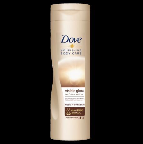 Dove Visible Glow Medium to Dark 250ml