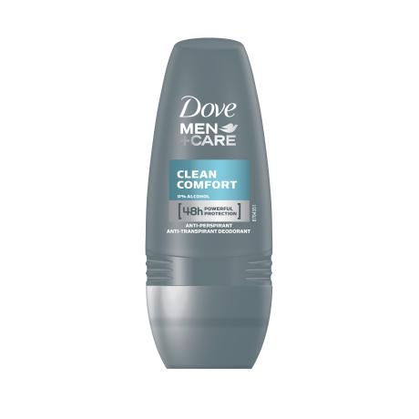 Dove Men+Care Clean Comfort Roll-on Antiperspirant 50ml