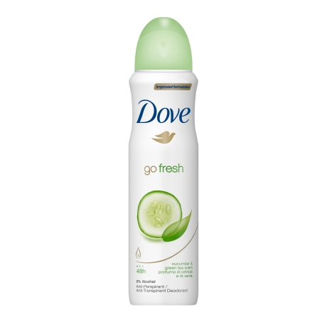 Dove Go Fresh Cucumber & Green Tea Antiperspirant 150ml