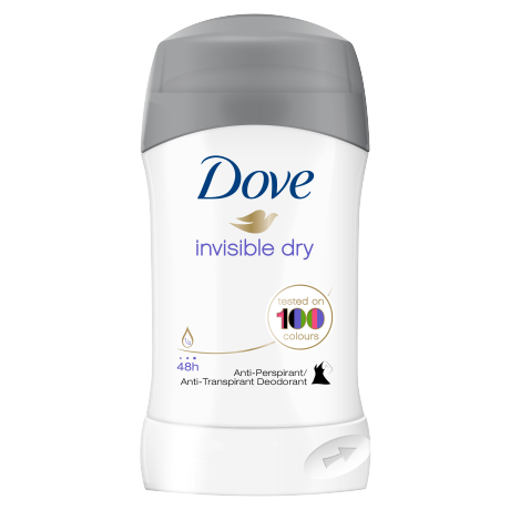 Dove Invisible Dry Stick Antiperspirant 40ml