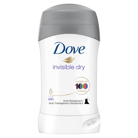 Dove Invisible Dry Stick Antiperspirant 40ml