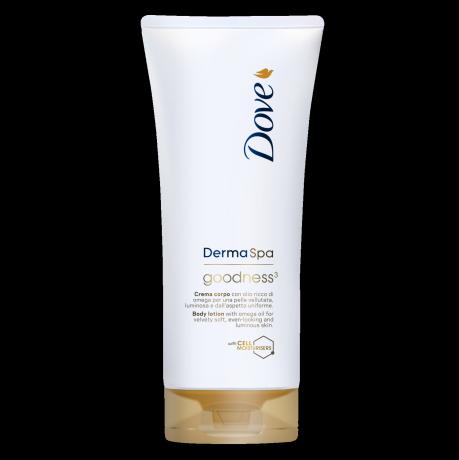 Dove DermaSpa Goodness3 Hudlotion för torr hud 200ml