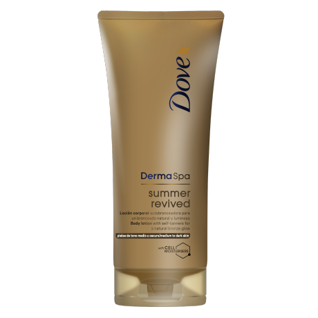 Dove DermaSpa Summer Revived Hudlotion (medium till mörk) 200ml