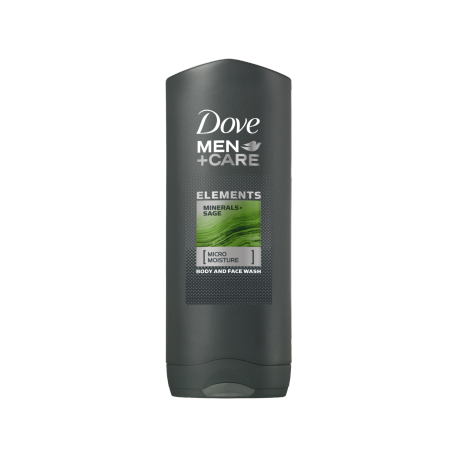 Dove Men+Care Mineral & Sage dusjsåpe 250ml
