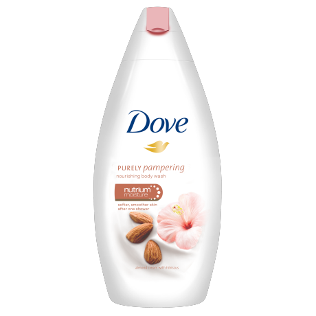 Dove Purely Pampering Almond Cream with Hibiscus Duschcreme 250ml