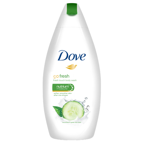 Dove Go Fresh Cucumber & Green Tea Duschcreme 250ml