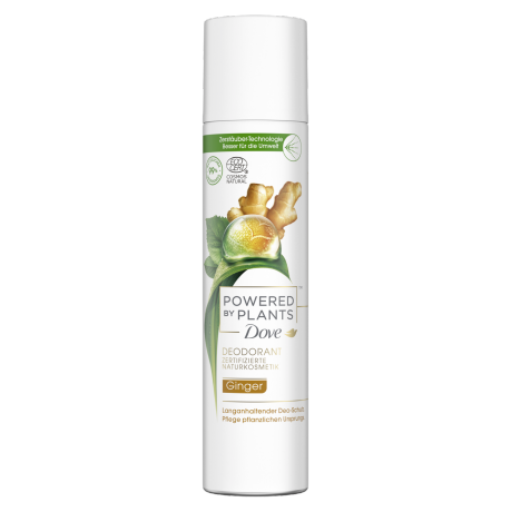 Dove Powered by Plants Ginger Deo-Spray