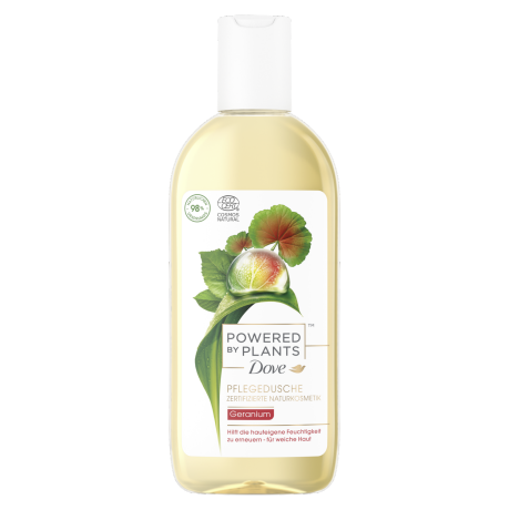 Dove Powered by Plants Pflegedusche Geranium 250ml