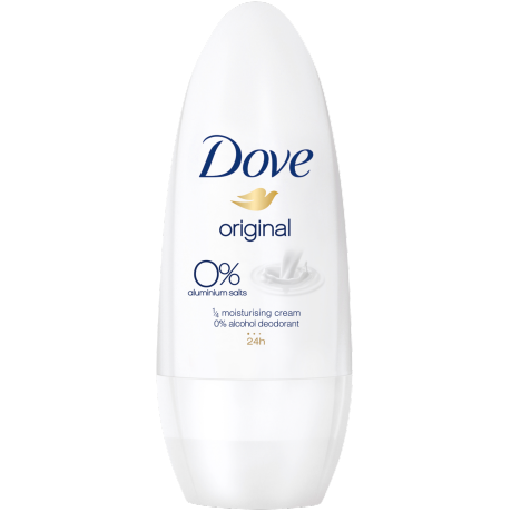 Dove original 0% Deodorant-Roll-On 50 ml