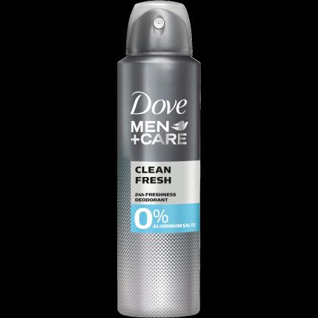 Dove MEN+CARE Clean Fresh 0% Aluminiumsalze Deodorant-Spray 150 ml