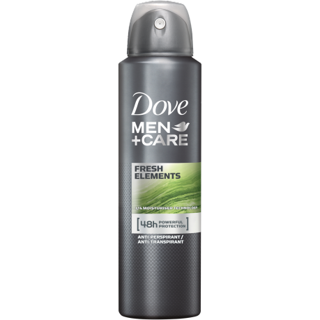 Dove MEN+CARE Anti-Transpirant Fresh Elements 150 ml