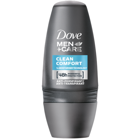 Dove MEN+CARE Clean Comfort Anti-Transpirant-Roll-On 50 ml