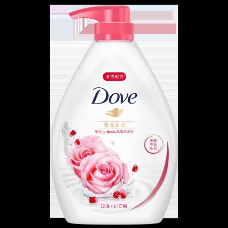 多芬玫瑰水嫩沐浴乳 1000g