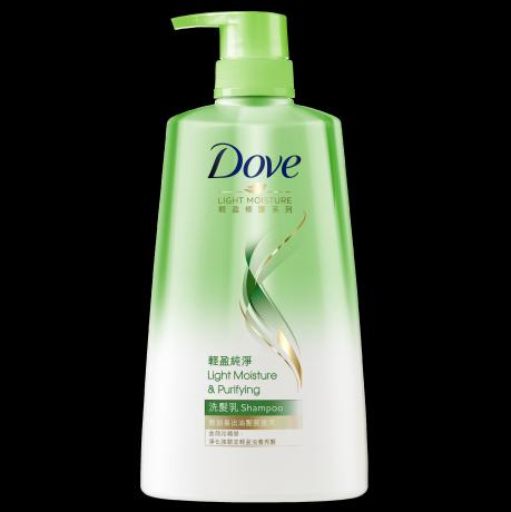 多芬輕盈純淨洗髮乳700ml