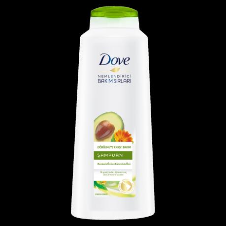 Dove Dökülmeye Karşı Bakım Avokado ve Kalendula Özü Şampuan 600ml