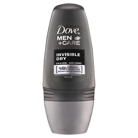 Dove Men Deodorant Roll On Invisible Dry 50ml
