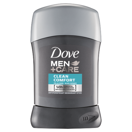 Dove Men Deodorant Stick Clean Comfort 50ml