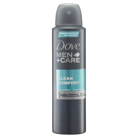 Dove Men Deodorant Sprey Clean Comfort 150ml