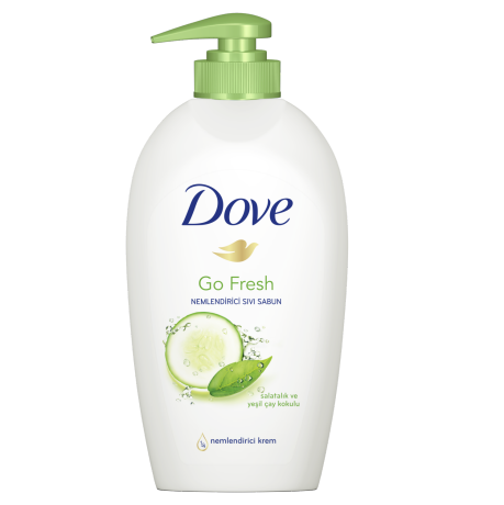 Dove Sivi Sabun Fresh Touch 500ml