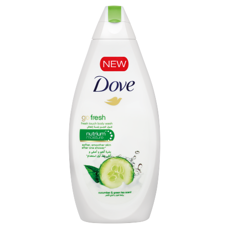 Dove Duş Sütü Go Fresh 500ml