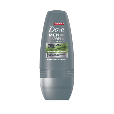 Dove Men+Care Mineral & Sage Roll-on 50ml