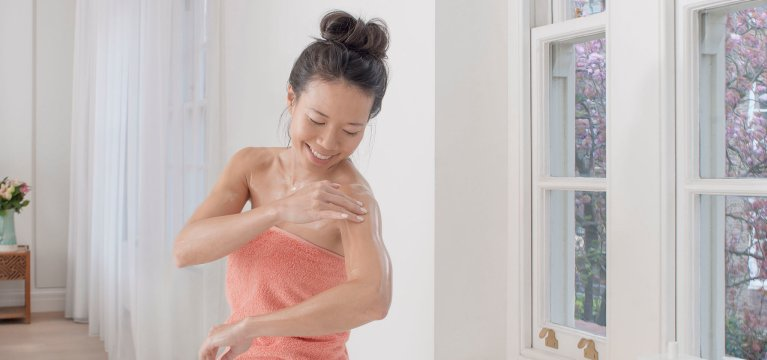 Бережный уход за чувствительной кожей тела