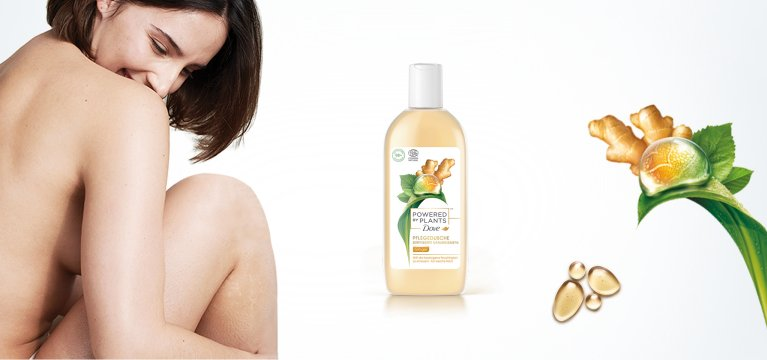 Powered by Plants Pflegedusche Ginger