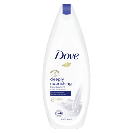 Dove Deeply Nourishing Body Wash 225ml
