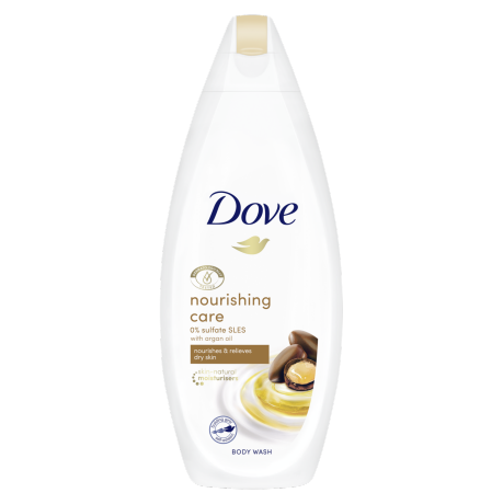 Dove Nourishing Care Body Wash with Argan Oil 225ml