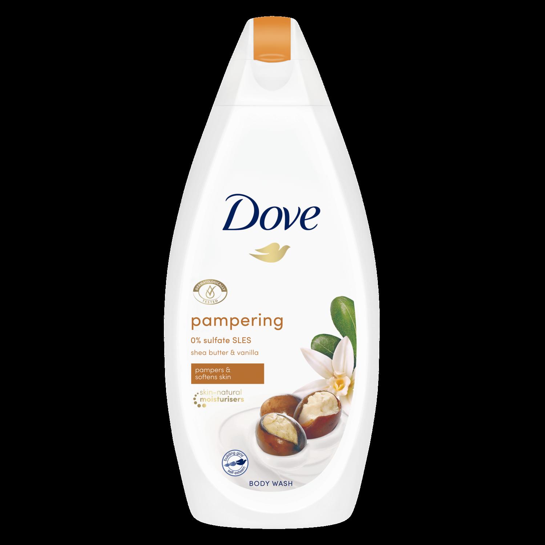 Dove Relaxing Body Wash Jasmine Petals And Coconut Milk