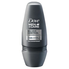 Dove Men+Care Silver Control Deodorant Roll-on 50ml